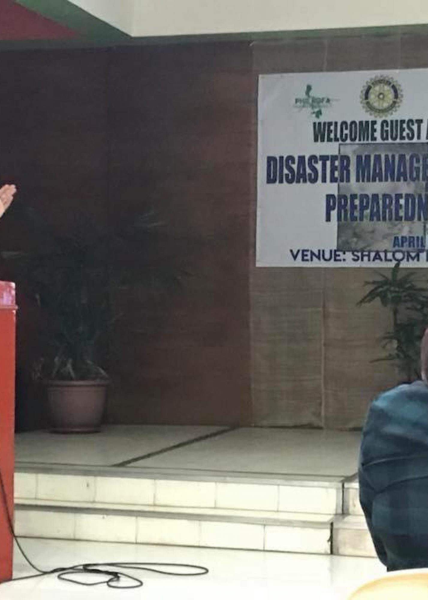 Knowledge Sharing on Disaster Management Response in NCR – April 28, 2018