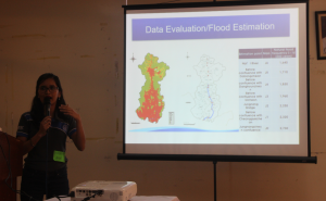 "Ms. Rose Ann Tierra, Training Specialist at the Office of Civil Defense, talks about ""South Korea Flood Management: Comprehensive River Plan"""