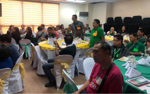 The participants, consist of employees from the Local Government of Parañaque, participate in the Open Forum.
