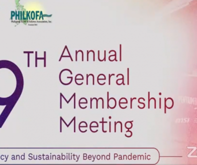 The 19th Annual General Membership Meeting Poster